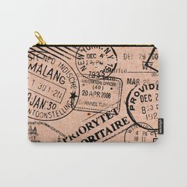 Passport Kraft Carry-All Pouch
