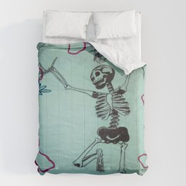 Dancing Bones Comforters