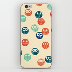 Owl Spots iPhone Skin