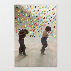 Please Be Happy Canvas Print