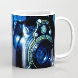 Capturing Yesteryear a vintage Kodak folding camera photograph Coffee Mug