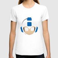 mega man T-shirts featuring Mega Man by Sport_Designs