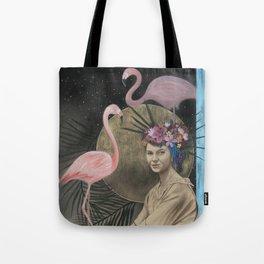 fləˈmɪŋ goʊ Tote Bag