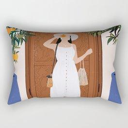 Colours of Marrakech Rectangular Pillow