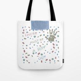 Fingerprints labyrinth Tote Bag