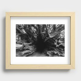 Stumped Recessed Framed Print