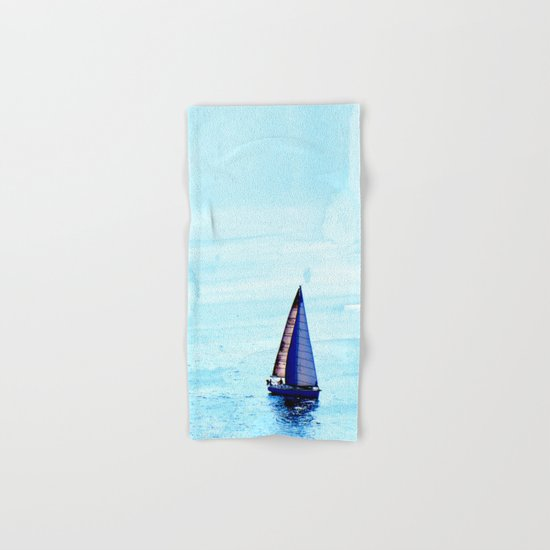 Sailing Hand & Bath Towel