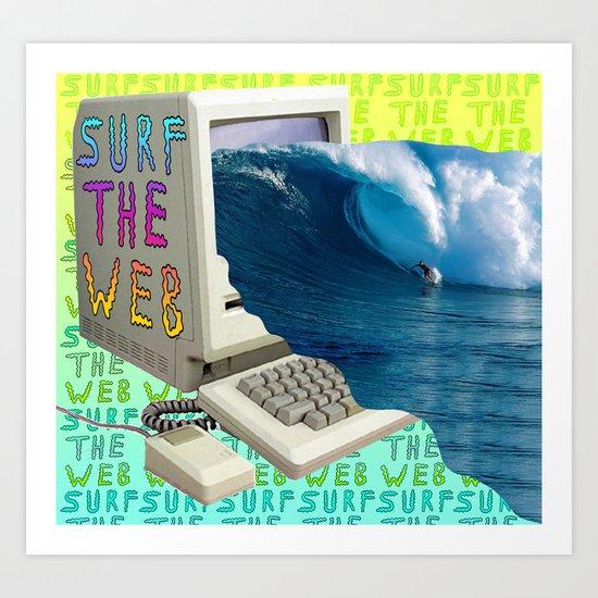 SVRF D4 W3B Art Print