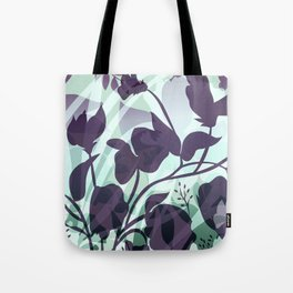 Sassy Sedge - cool colors Tote Bag