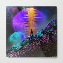 In Space, No One Can Hear You... Metal Print