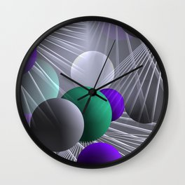 3D for duffle bags and more -8- Wall Clock