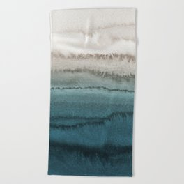 WITHIN THE TIDES - CRASHING WAVES Beach Towel