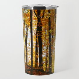 Sunny Autumn Hillside Travel Mug