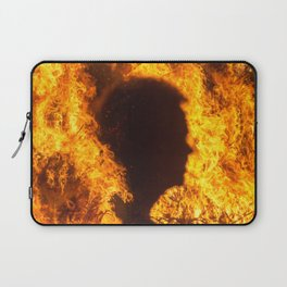 Man In The Fire Laptop Sleeve