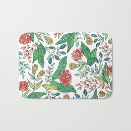 Wildflower Pattern - Full Color Bath Mat