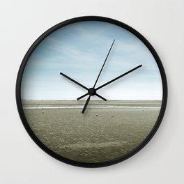 Open emptiness Wall Clock