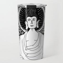 The Monk- White Travel Mug