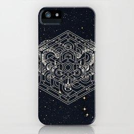 Cosmic Horn Geometry iPhone Case