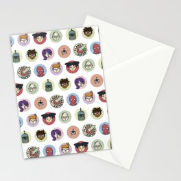 Planet Express Crew Stationery Cards