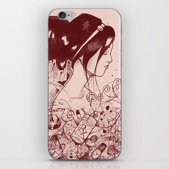 Fiction and Beauty iPhone Skin