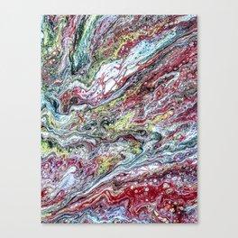 Splurge - acrylic pour painting Canvas Print