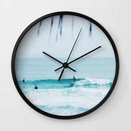 Let's Go Surfing Wall Clock