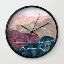 the village Wall Clock