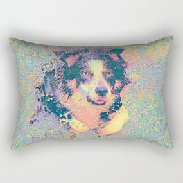 Pastel_Dog_001_by_JAMColors Rectangular Pillow