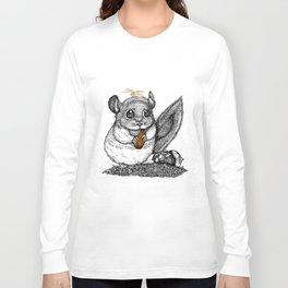 a little chinchilla Long Sleeve T-shirt