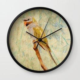 Derbyan Parakeet I Wall Clock