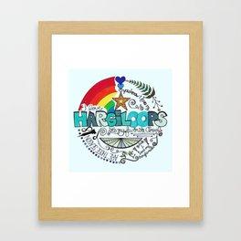 Hargiloops Framed Art Print