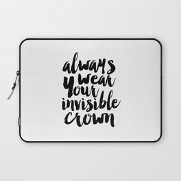 Girls Room Decor,Girls Bedroom Decor,Nursery Girls,Gift for Her,Women Gifts,Quote Prints,Typography Laptop Sleeve