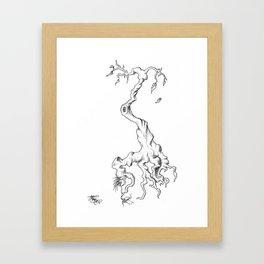 Floating Tree #1 Framed Art Print