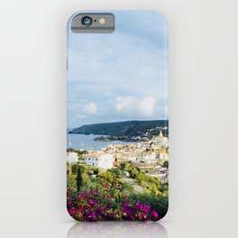 Spanish Coast | Costa Brava Cadaques Coastal Mediterranean Village Riviera Art iPhone Case