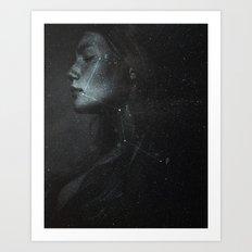 Casiopea constellation Art Print