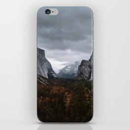 YOSEMITE TUNNEL VIEW iPhone Skin