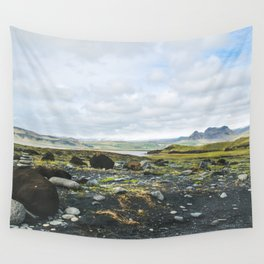 Volcanic Landscape Wall Tapestry