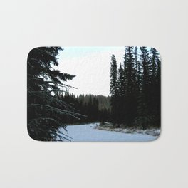 Wintertime in WaterValley Bath Mat