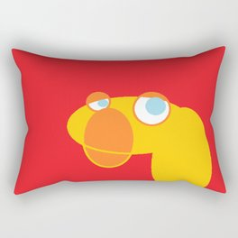 Disappointed Sock Monkey Rectangular Pillow