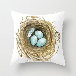 Nest 3 Throw Pillow