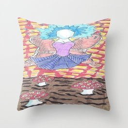 Crispy Angel Throw Pillow