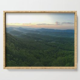 Dragon's Tooth, Catawba Valley, Virginia on the Appalachian Trail (AT) Serving Tray