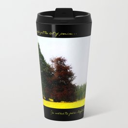 The Changing Colors Of Fall  Travel Mug