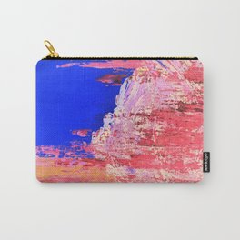 Into the Mist Pantone Color of the Year 2016 Abstract Carry-All Pouch