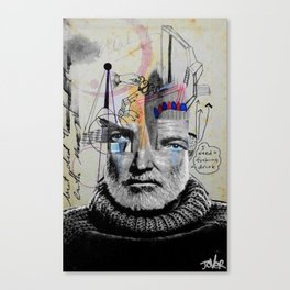 BEING ERNEST HEMINGWAY Canvas Print