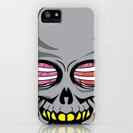 Skull skull ribcage offal gift iPhone Case