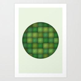 Secret Green Art Print