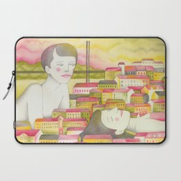 Filles en ville Laptop Sleeve