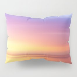Abstract Sunset IV Pillow Sham
