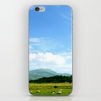 scotland iPhone & iPod Skins featuring Highlands Scotland by seb mcnulty
